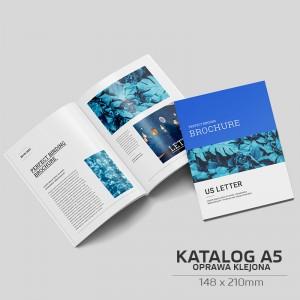 Katalog klejony A5 - 100szt.