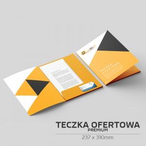 Teczka ofertowa A4 (237 x 310mm) - PREMIUM
